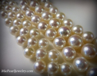 Akoya Pearl Bracelets and Necklaces