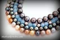 Tahitian Pearl Strands in Various Colors