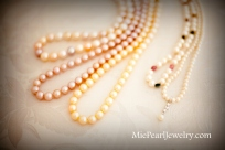 Fresh Water Pearl Necklace Strands