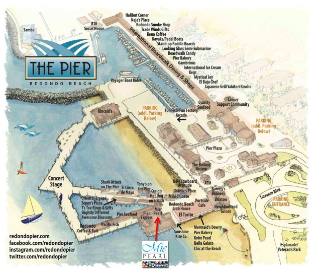 Map Courtesy of http://redondopier.com/